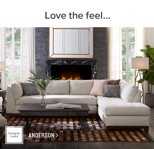 love the feel. anderson. shop now.