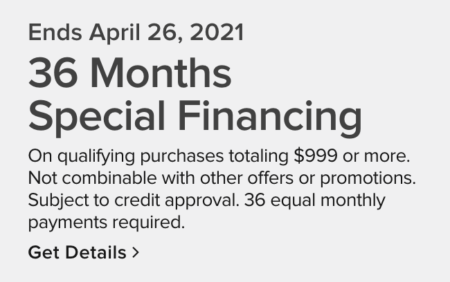 48 months special financing