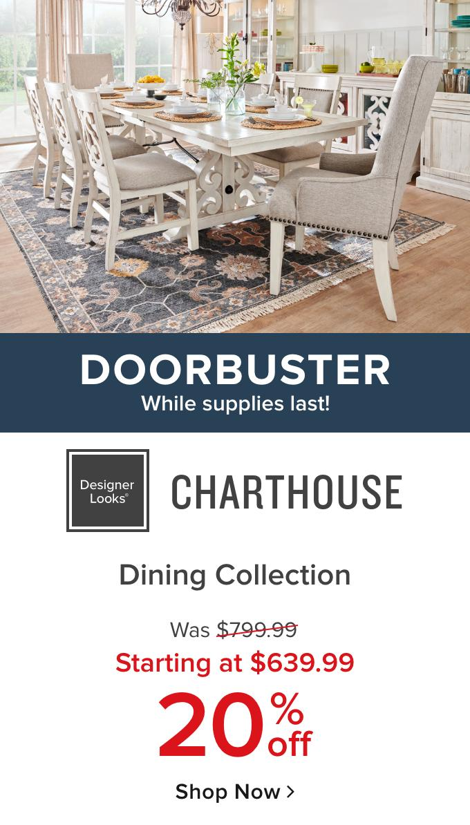 Charthouse Doorbuster