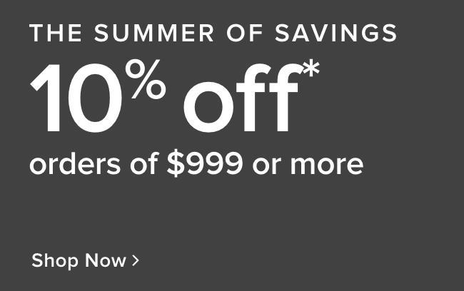 Summer of savings Sale - shop now