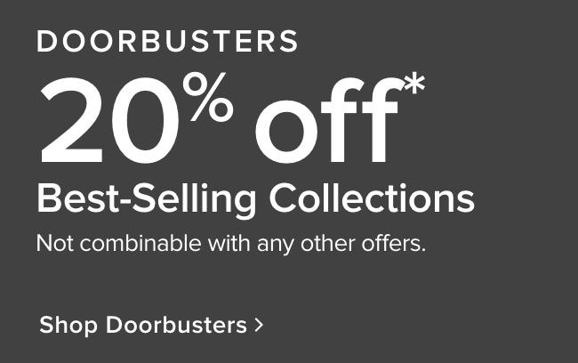 Doorbusters - shop now