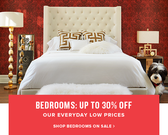 bedrooms: up to 30% off. shop bedrooms on sale.