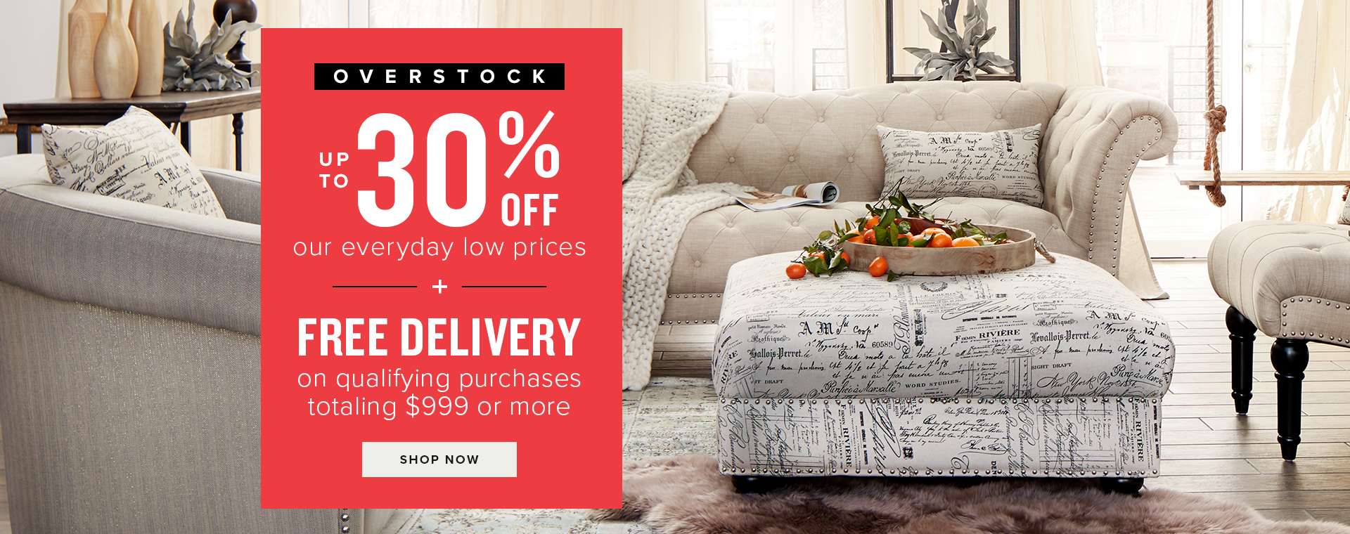 up to 30% off + free delivery on qualifying purchases of $999+ or more. shop now.
