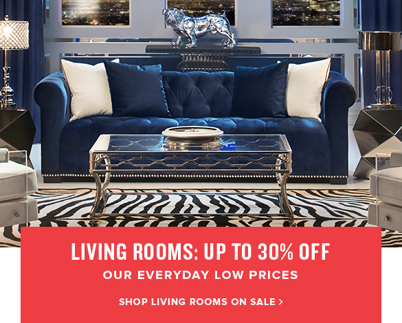 living rooms: up to 30% off. shop living rooms on sale.