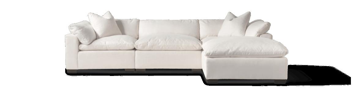 4-piece sofa with Ottoman