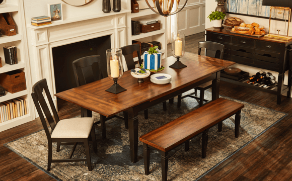 serve up tasty styles | dining rooms | shop now