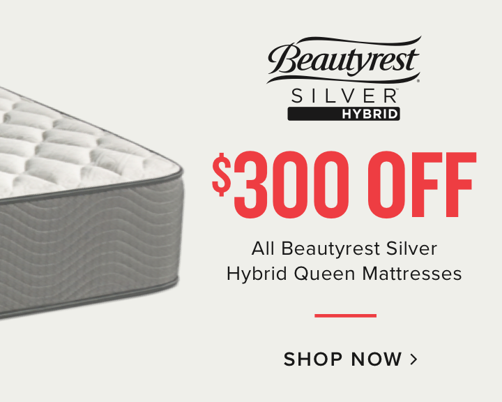 $300 OFF Beautyrest SilverHybrid Queen Mattresses | Shop now