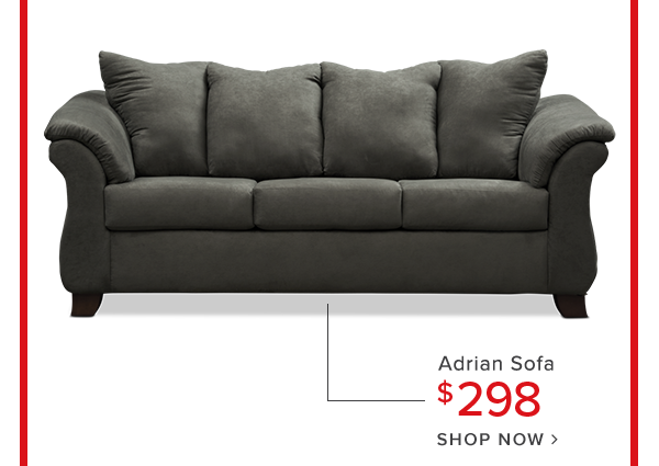 adrian sofa $298 shop now.