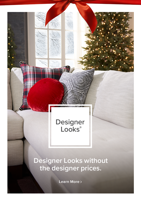 Designer Looks  Designer Looks without the designer prices learn more.