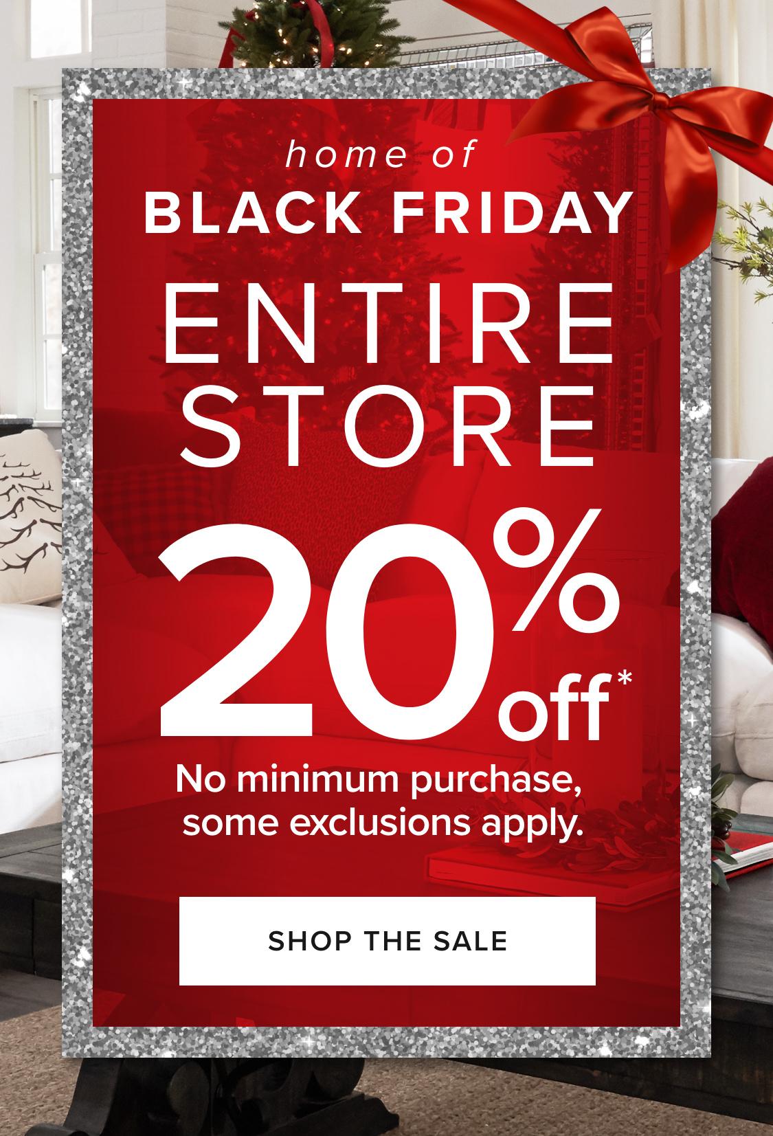 Black Friday sale - Shop Now!