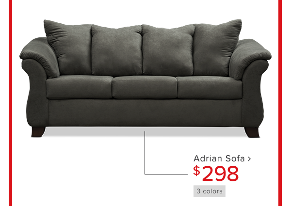 Adrian sofa $298 shop now