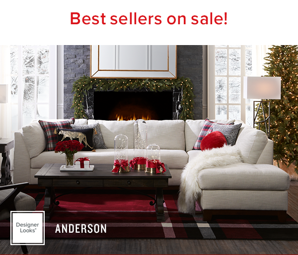 Best-sellers on sale! 20% off select collections. cannot combine with storewide offers. designer looks anderson. shop now