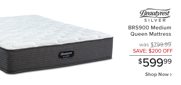 beautyrest Brs900 Medium queen mattress was $799.99 save $200 off $599.99 shop now