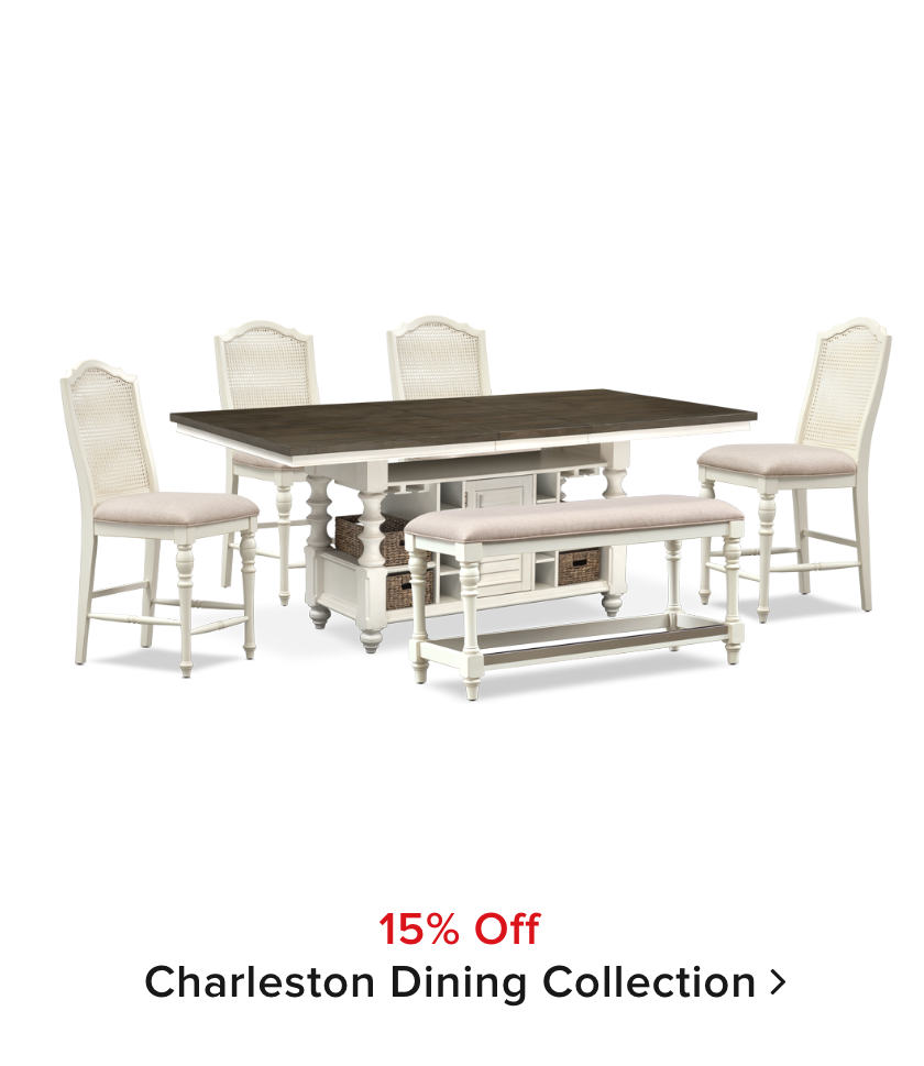 15% off Charleston Dining Collection