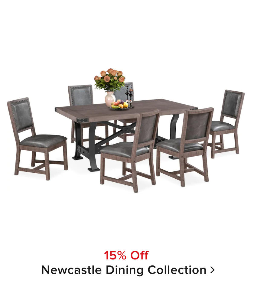 15% off Newcastle Collection