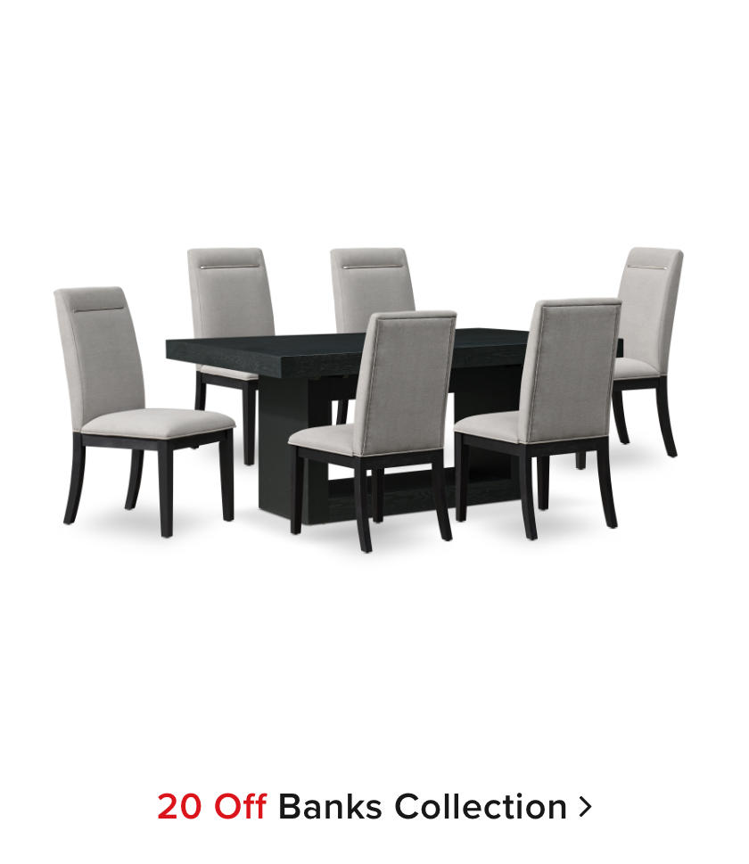 20% off Banks Collection