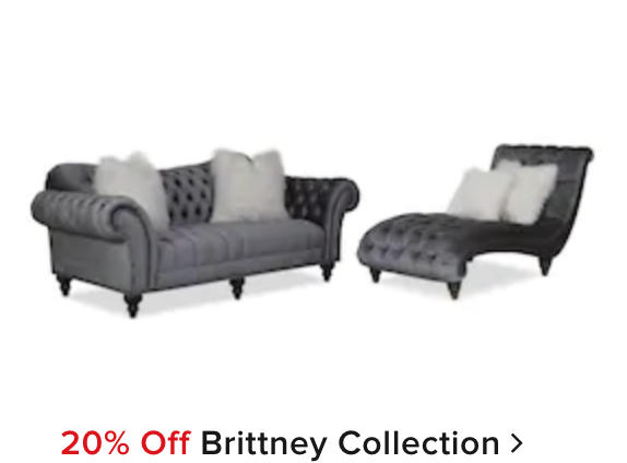 20% off Brittney Collection