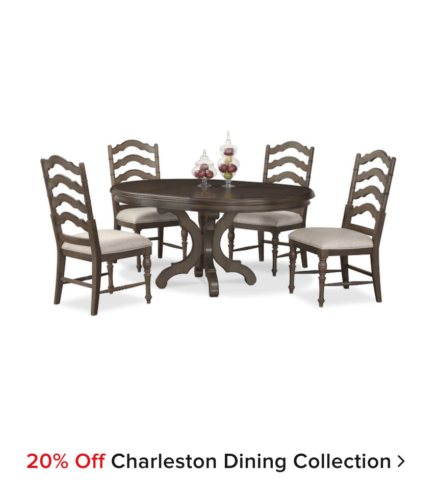 20% off Charleston Dining Collection