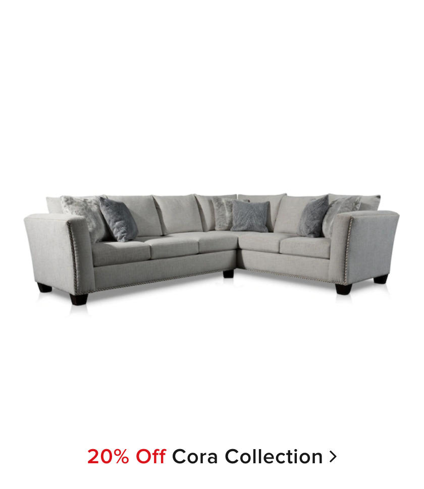 20% off Cora Collection