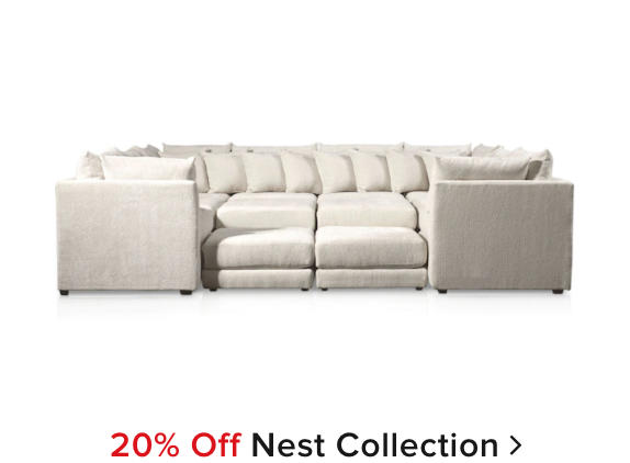 20% off Nest Collection