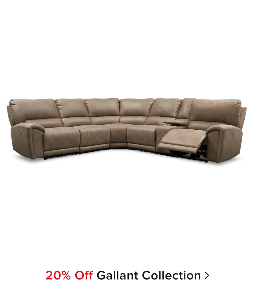 20% Off: The Gallant Collection
