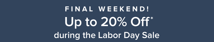 The Labor Day Sale