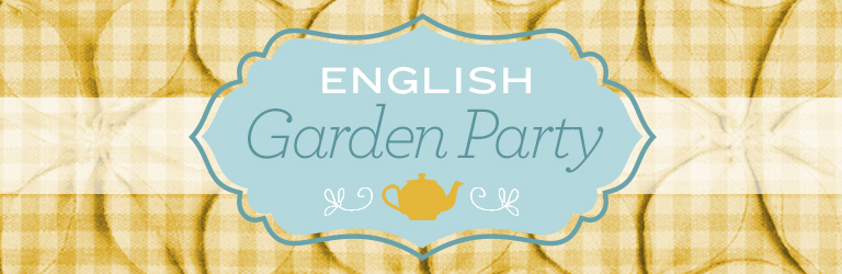 english garden tea party