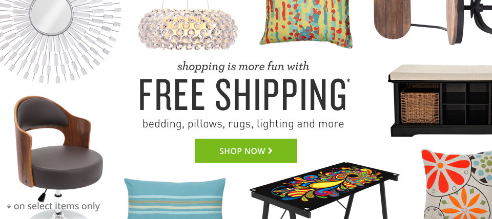 free shipping on select items