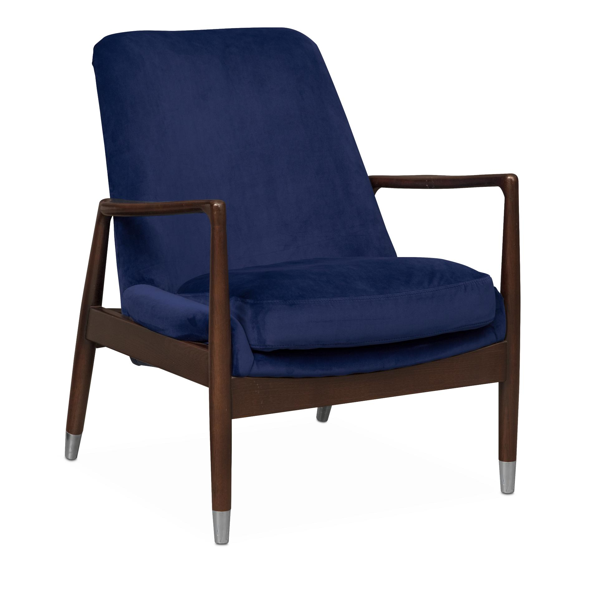 Mastro Accent Chair   Blue
