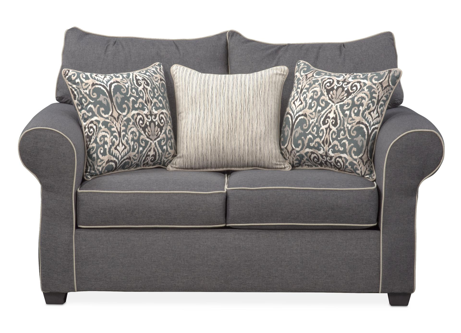 Carla Loveseat   Gray