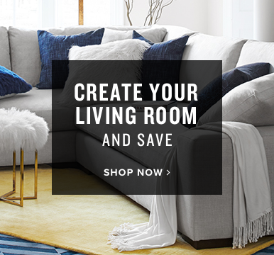 custom living rooms | create your living room | shop now