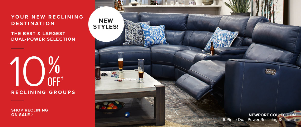 Comfort   Joy   Shop Reclining Furniture  living room furniture. American Signature Furniture   Designer Looks for Less   American