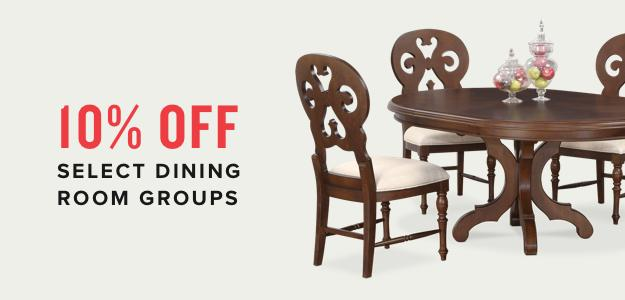10% OFF Select Dining Room Furniture   Shop Dining Room Funrniture On Sale
