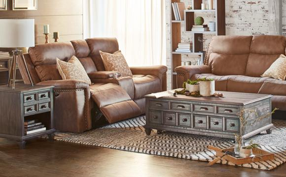 up to 30% off living rooms & recliners