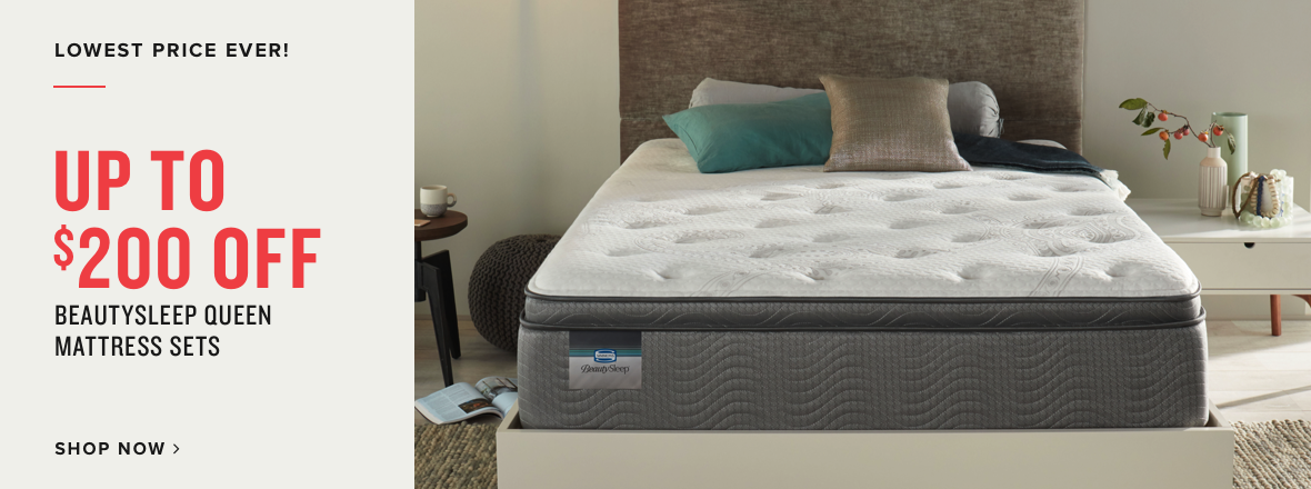 up to $200 off beauty sleep | shop now