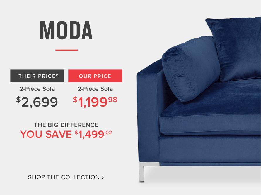 Moda Sectional Compare And Save