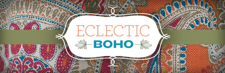 eclectic boho style