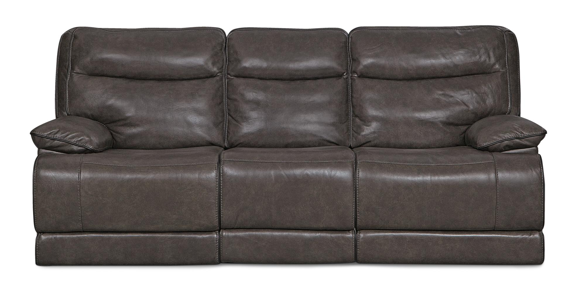 Monaco Power Reclining Sofa   Gray