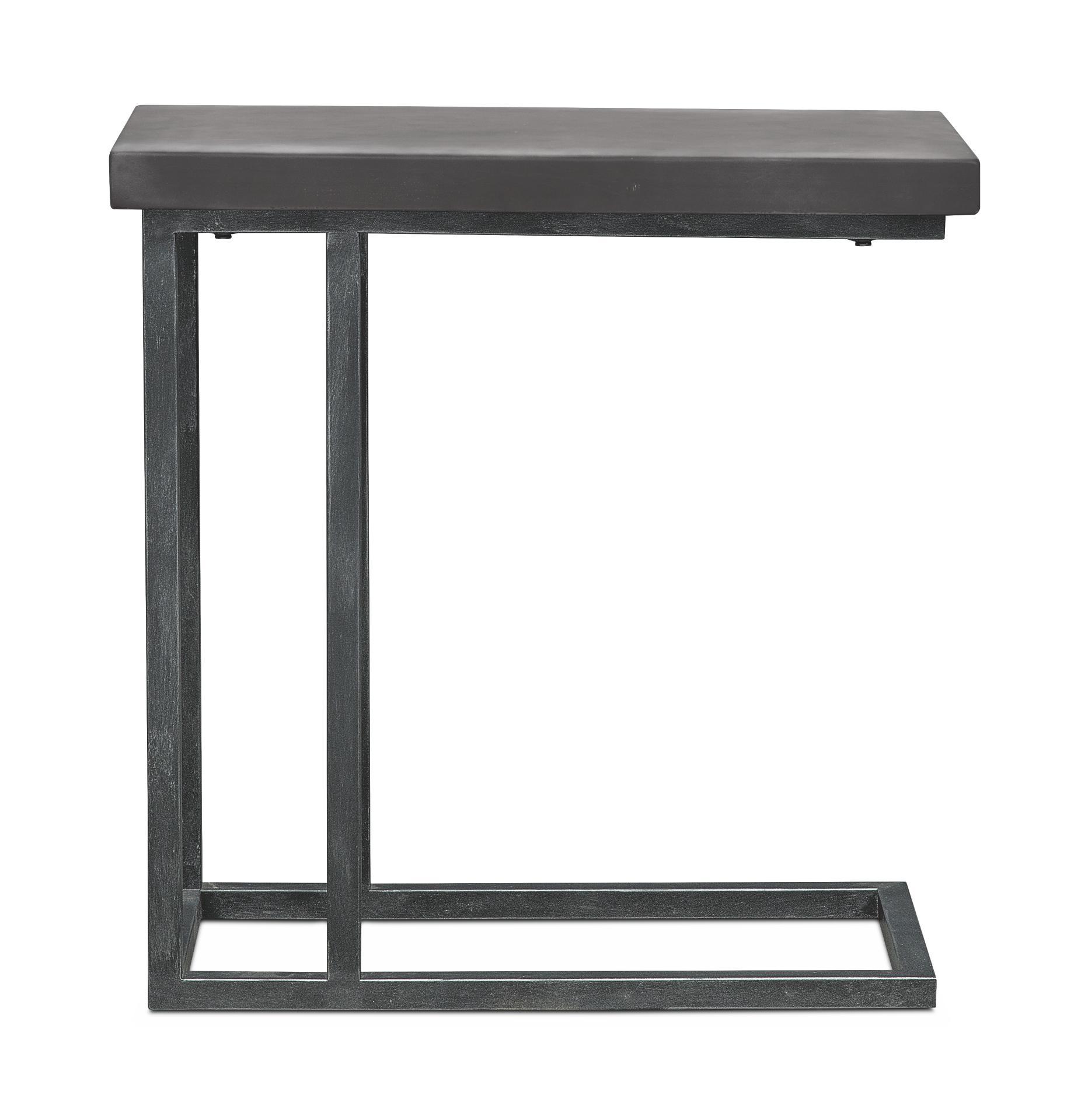 conde side table concrete