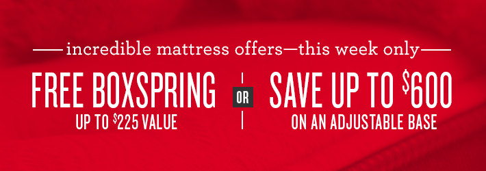 incredible mattress offers this week only