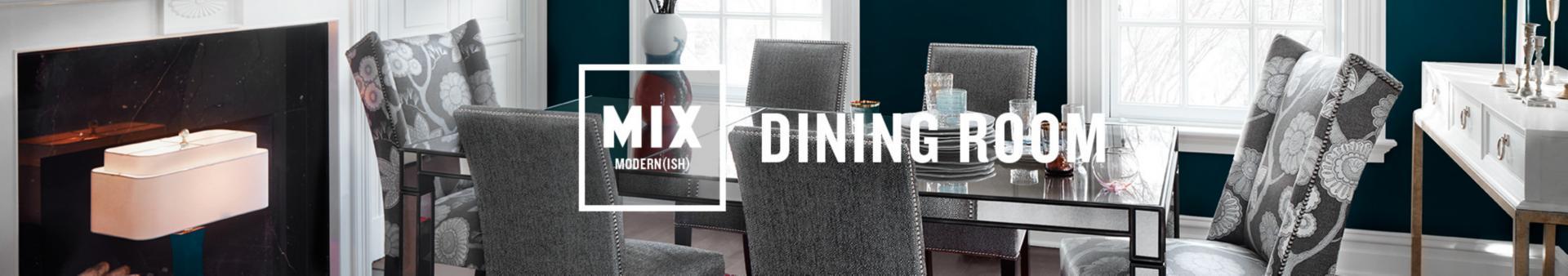 modernish dining room