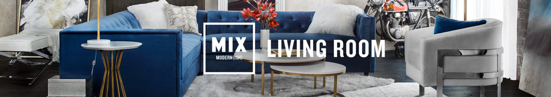 Modern(ish) Living Room Furniture | Value City Furniture and ...