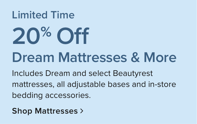 Mattresses up to $500 off* Plus Free Delivery on qualifying purchase of $999+