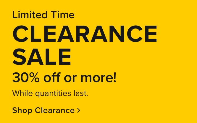 Clearance take an extra 10% off