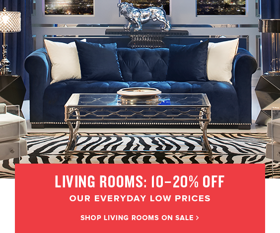 living rooms: 10-20% off. shop living rooms on sale.