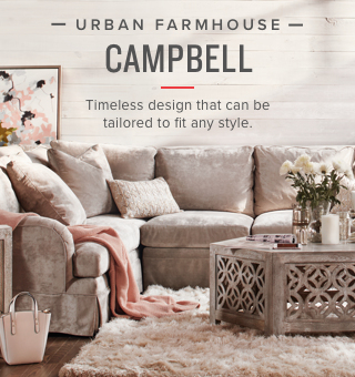 Shop the Urban Farmhouse - Campbell Collection