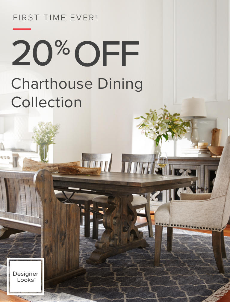 shop the charthouse dining collection