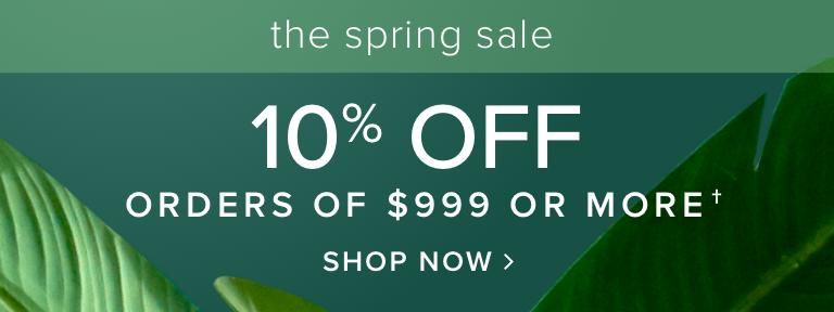The Spring sale | FREE DELIVERY on orders of $1299 or more  | Shop now