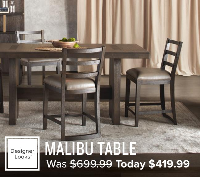 40% off the Malibu table now $599