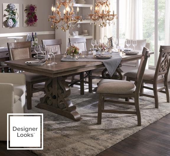 Charthouse + plush dining chair